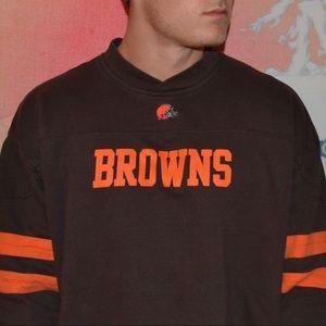 Cleveland Browns Vintage Crewneck Sweatshirt